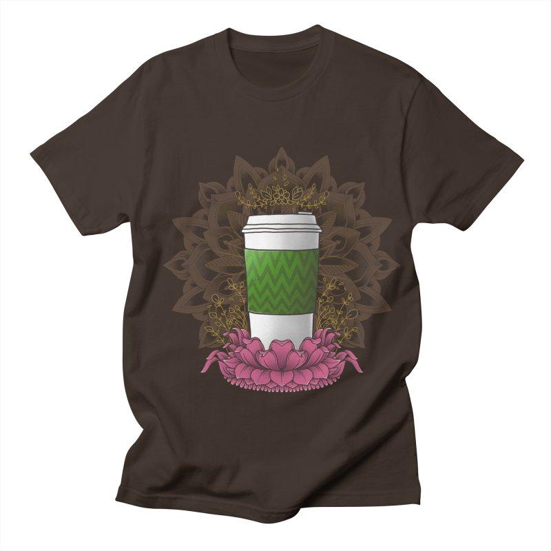 Autumn Latte Men's Regular T-Shirt by godzillarge's Artist Shop