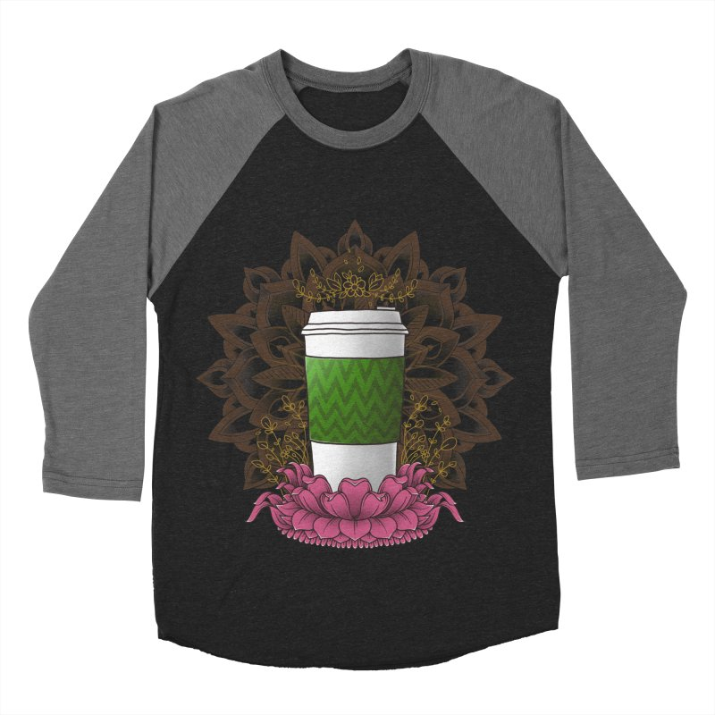 Autumn Latte Women's Baseball Triblend Longsleeve T-Shirt by godzillarge's Artist Shop