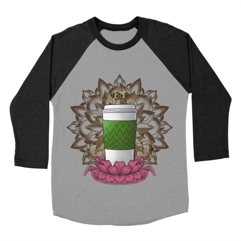 Autumn Latte Men's Baseball Triblend Longsleeve T-Shirt by godzillarge's Artist Shop