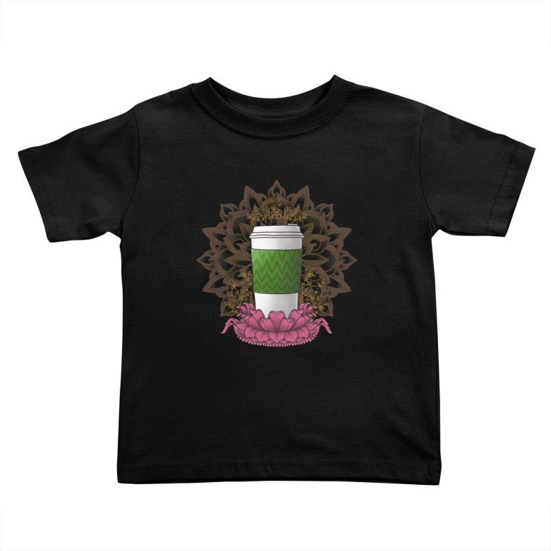 Autumn Latte Kids Toddler T-Shirt by godzillarge's Artist Shop