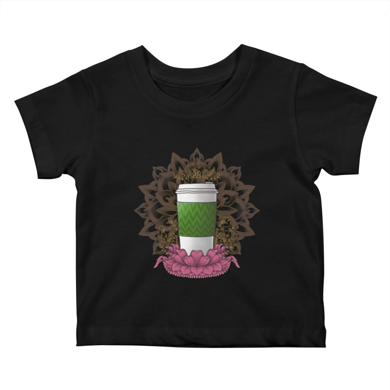 Autumn Latte Kids Baby T-Shirt by godzillarge's Artist Shop