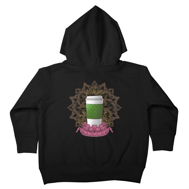Autumn Latte Kids Toddler Zip-Up Hoody by godzillarge's Artist Shop
