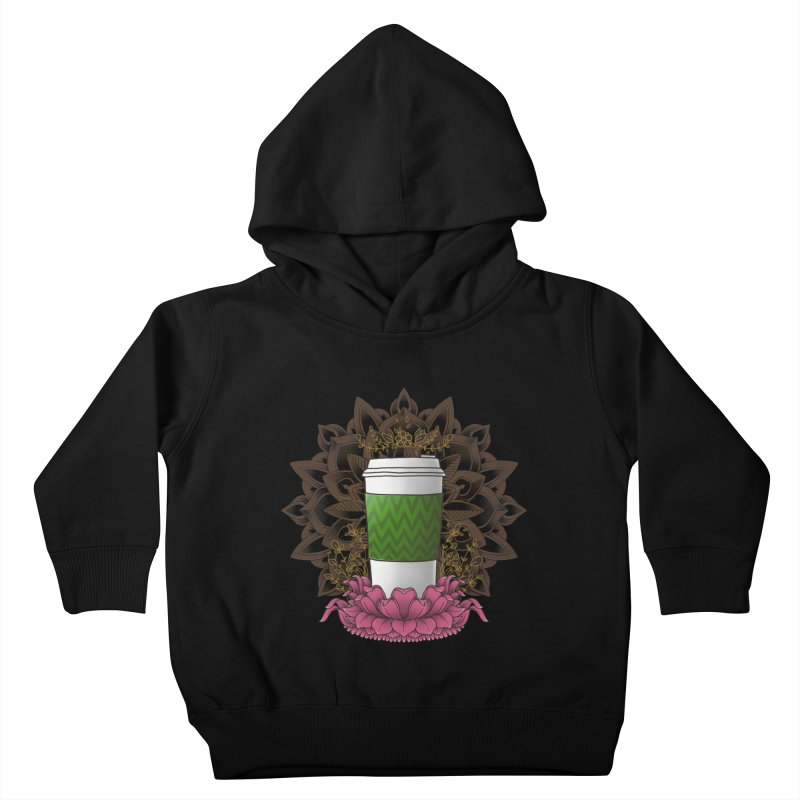 Autumn Latte Kids Toddler Pullover Hoody by godzillarge's Artist Shop