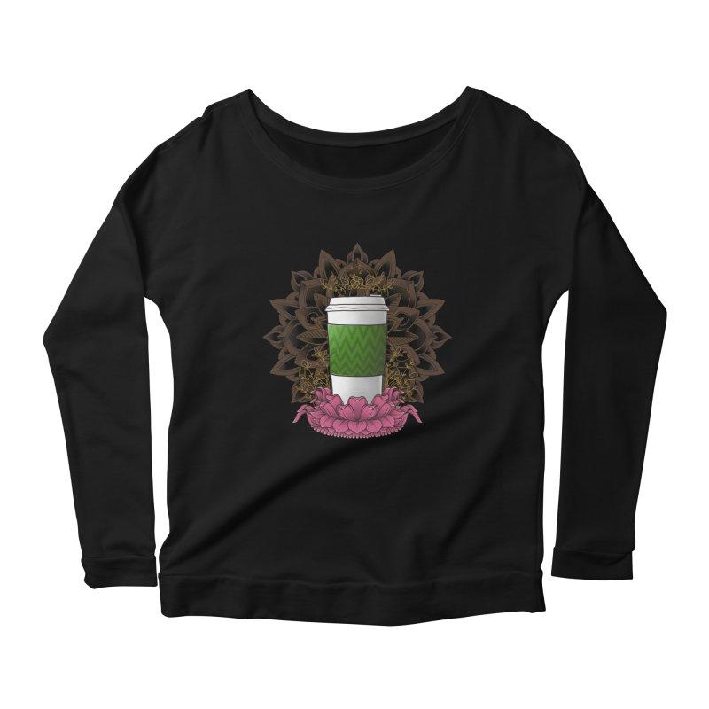Autumn Latte Women's Scoop Neck Longsleeve T-Shirt by godzillarge's Artist Shop