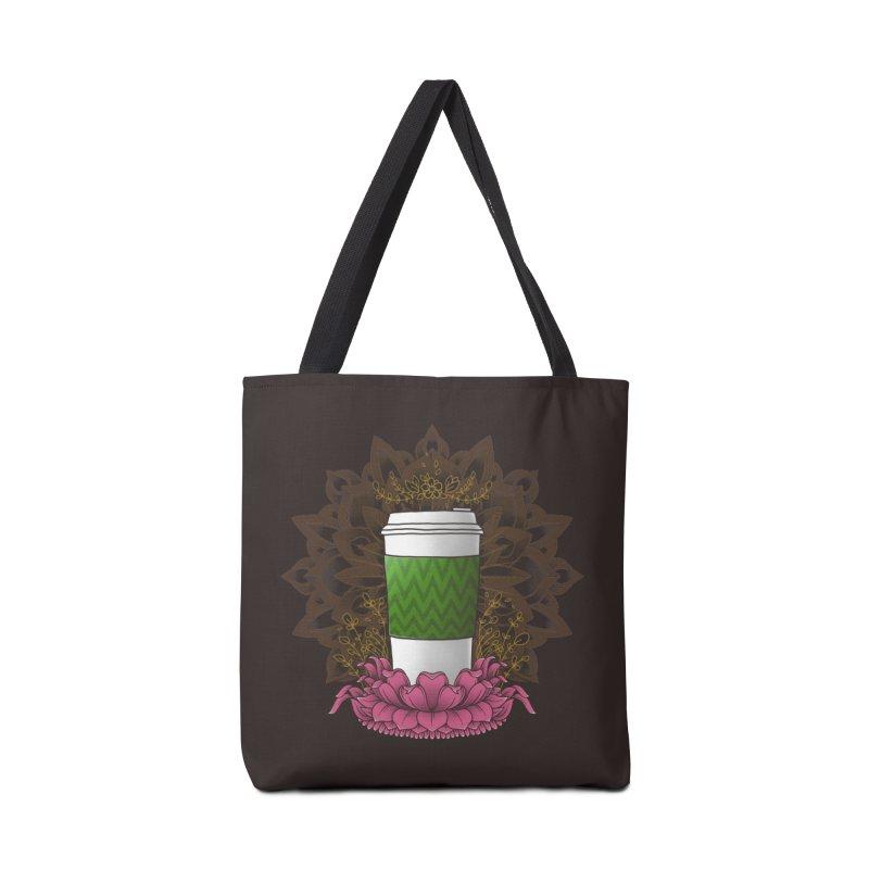 Autumn Latte Accessories Bag by godzillarge's Artist Shop