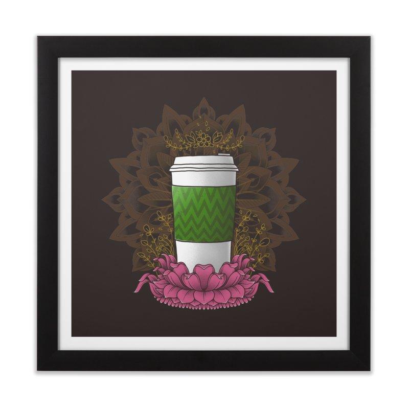 Autumn Latte Home Framed Fine Art Print by godzillarge's Artist Shop