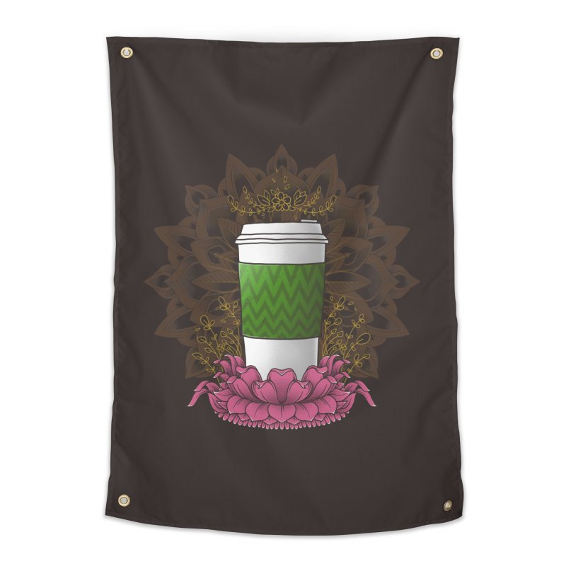 Autumn Latte Home Tapestry by godzillarge's Artist Shop
