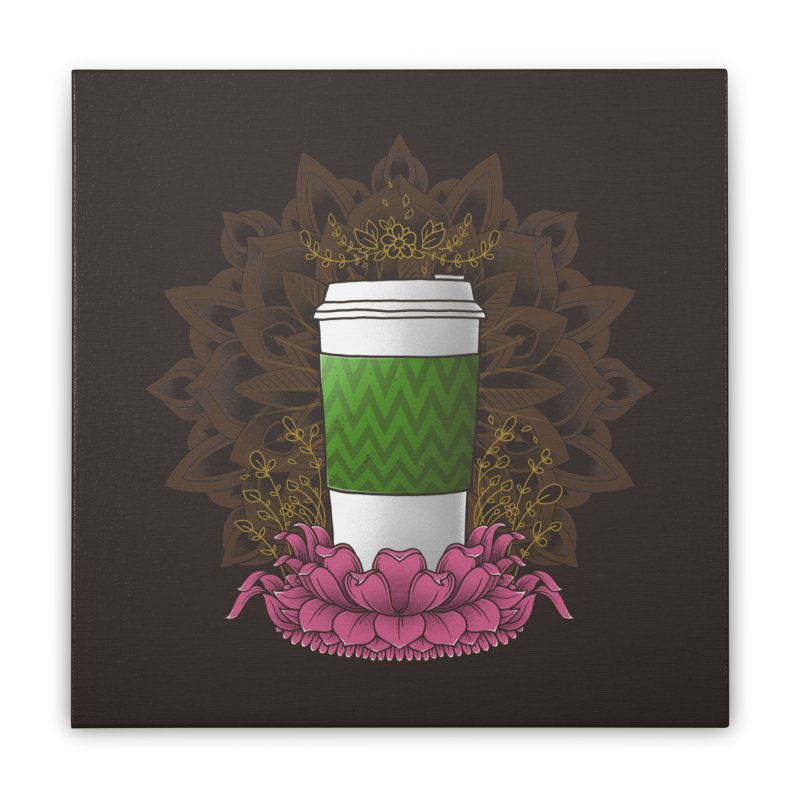 Autumn Latte Home Stretched Canvas by godzillarge's Artist Shop