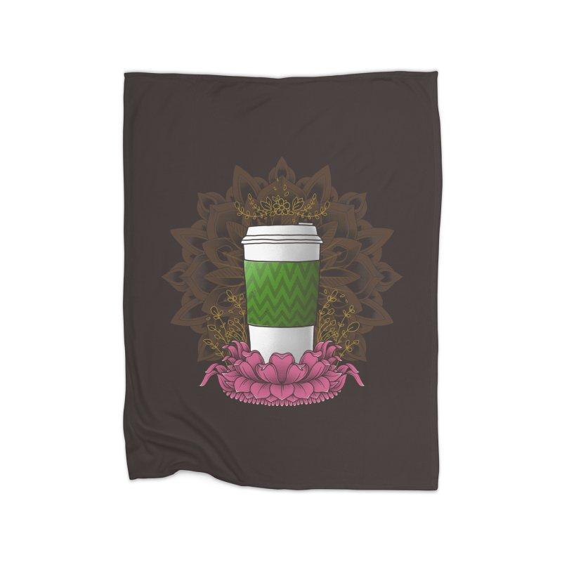 Autumn Latte Home Blanket by godzillarge's Artist Shop