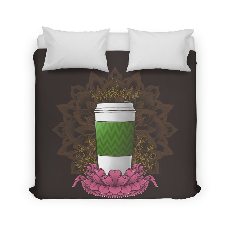 Autumn Latte Home Duvet by godzillarge's Artist Shop