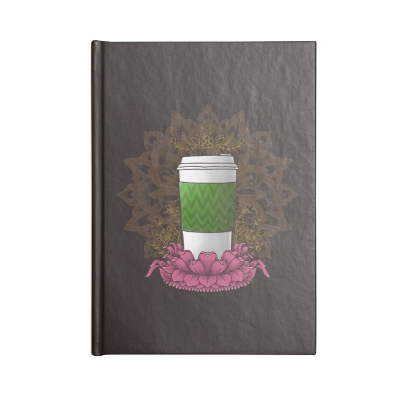 Autumn Latte Accessories Notebook by godzillarge's Artist Shop