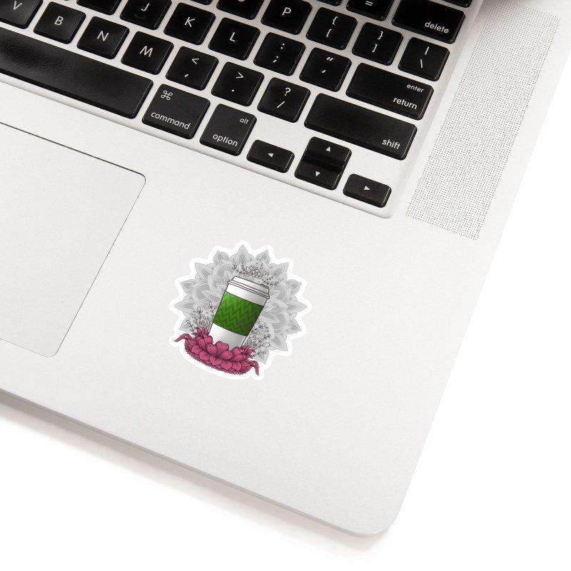 Autumn Latte Accessories Sticker by godzillarge's Artist Shop