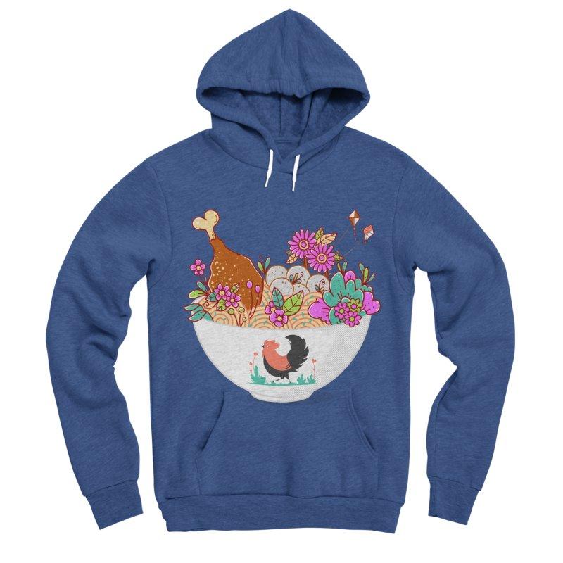 Bakmi Komplit Fantasy Women's Sponge Fleece Pullover Hoody by godzillarge's Artist Shop