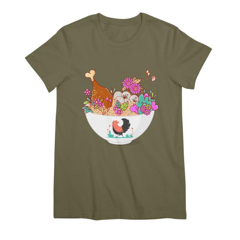 Bakmi Komplit Fantasy Women's Premium T-Shirt by godzillarge's Artist Shop