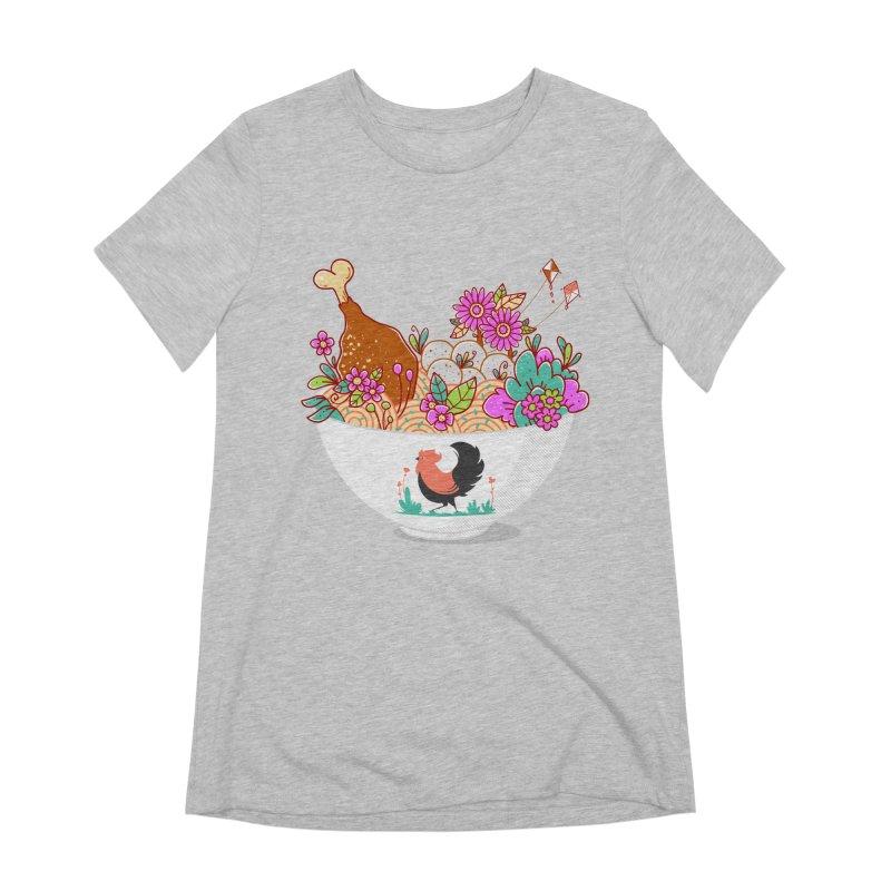 Bakmi Komplit Fantasy Women's Extra Soft T-Shirt by godzillarge's Artist Shop