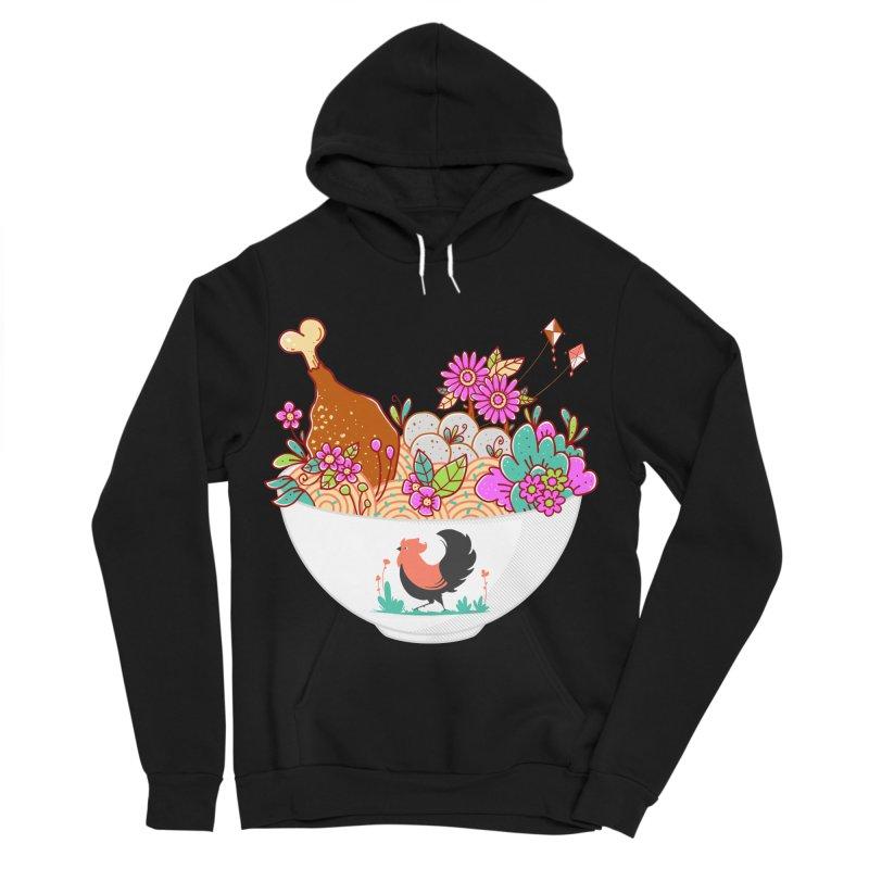 Bakmi Komplit Fantasy Men's Sponge Fleece Pullover Hoody by godzillarge's Artist Shop