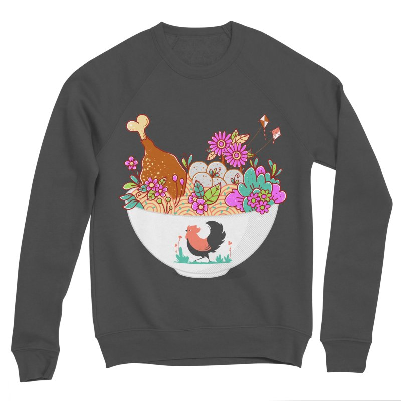 Bakmi Komplit Fantasy Men's Sponge Fleece Sweatshirt by godzillarge's Artist Shop