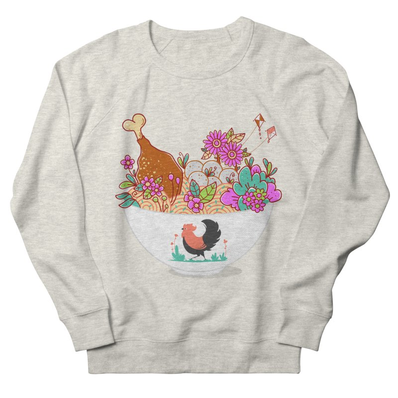 Bakmi Komplit Fantasy Women's French Terry Sweatshirt by godzillarge's Artist Shop