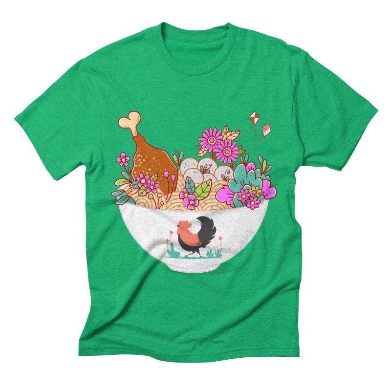 Bakmi Komplit Fantasy Men's Triblend T-Shirt by godzillarge's Artist Shop