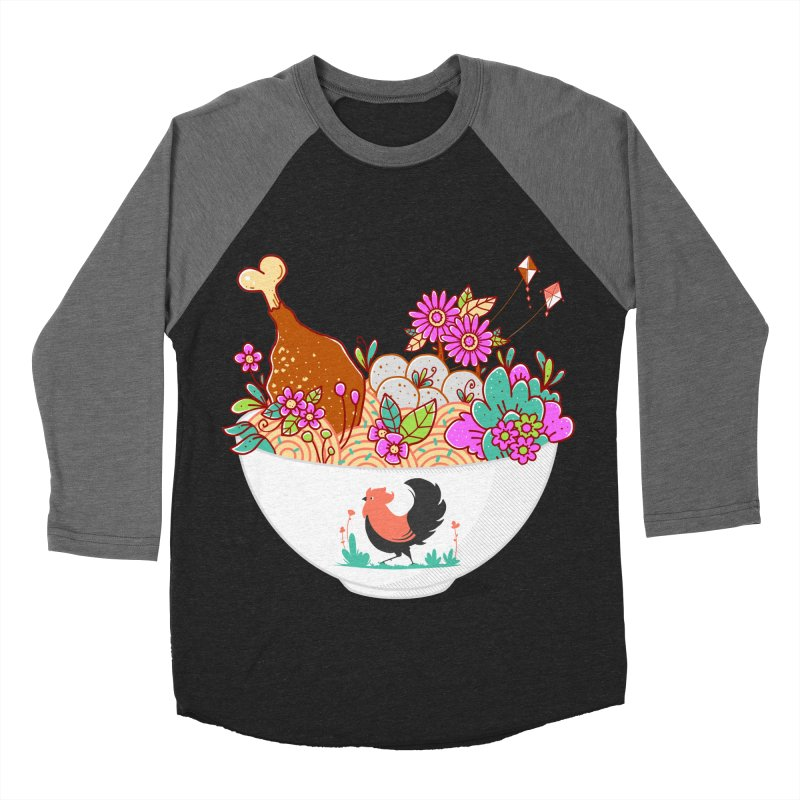 Bakmi Komplit Fantasy Women's Baseball Triblend Longsleeve T-Shirt by godzillarge's Artist Shop