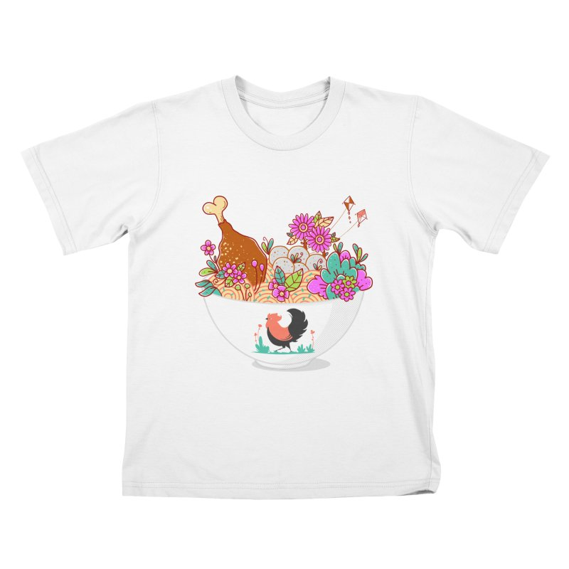 Bakmi Komplit Fantasy Kids T-Shirt by godzillarge's Artist Shop