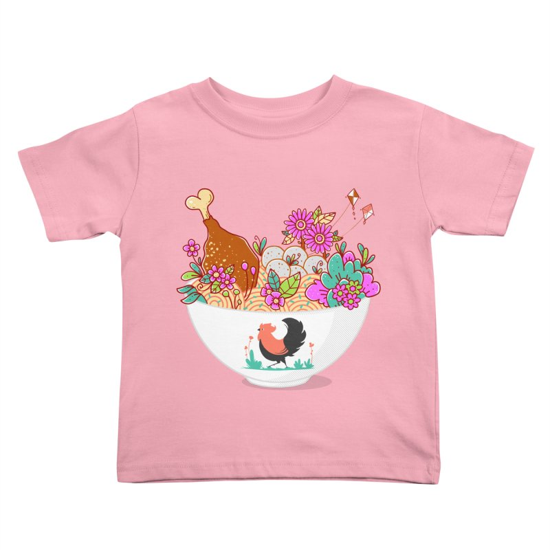 Bakmi Komplit Fantasy Kids Toddler T-Shirt by godzillarge's Artist Shop