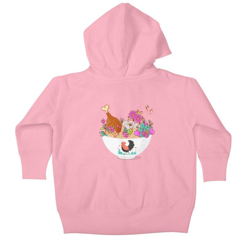 Bakmi Komplit Fantasy Kids Baby Zip-Up Hoody by godzillarge's Artist Shop