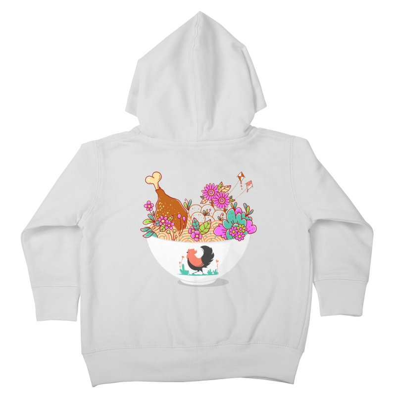 Bakmi Komplit Fantasy Kids Toddler Zip-Up Hoody by godzillarge's Artist Shop