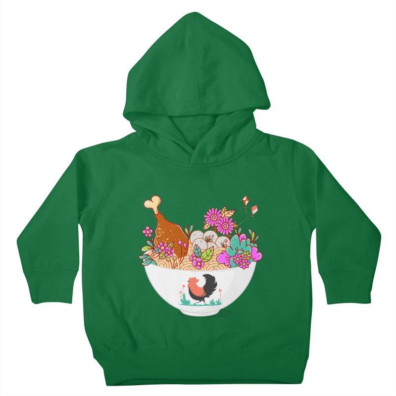 Bakmi Komplit Fantasy Kids Toddler Pullover Hoody by godzillarge's Artist Shop