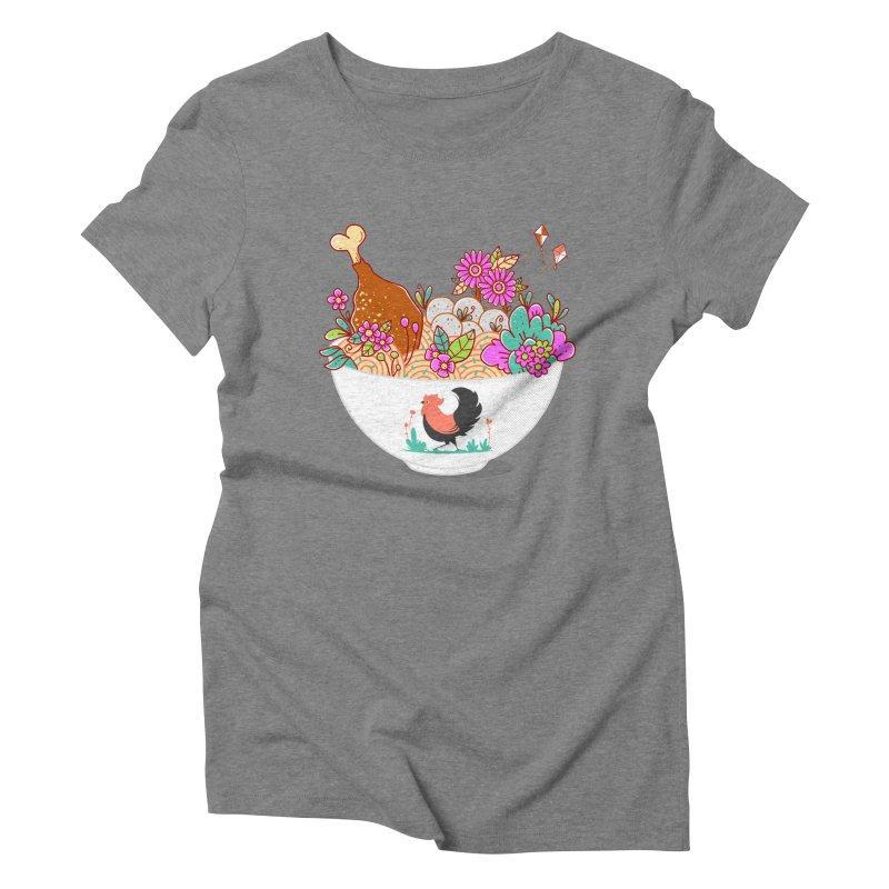 Bakmi Komplit Fantasy Women's Triblend T-Shirt by godzillarge's Artist Shop