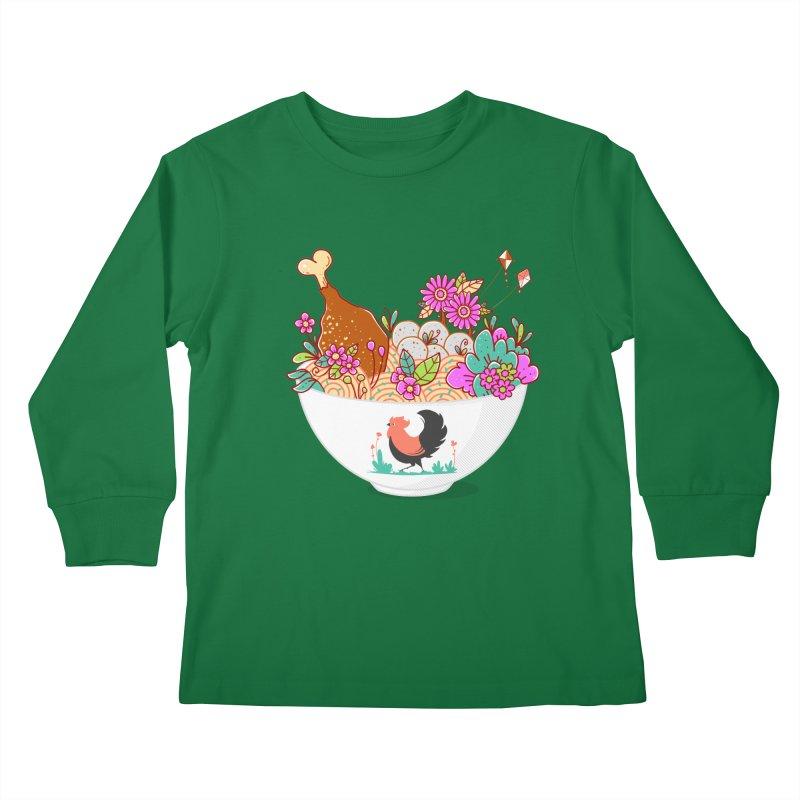 Bakmi Komplit Fantasy Kids Longsleeve T-Shirt by godzillarge's Artist Shop