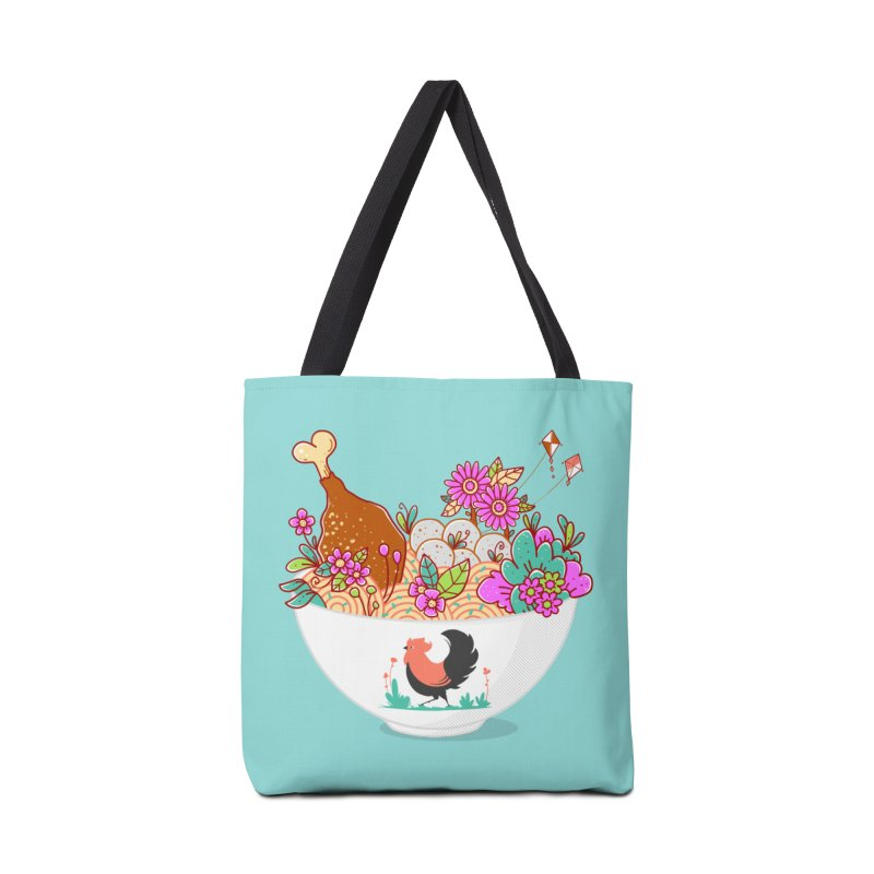 Bakmi Komplit Fantasy Accessories Bag by godzillarge's Artist Shop
