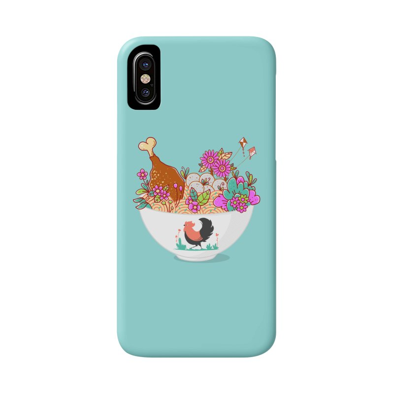 Bakmi Komplit Fantasy Accessories Phone Case by godzillarge's Artist Shop