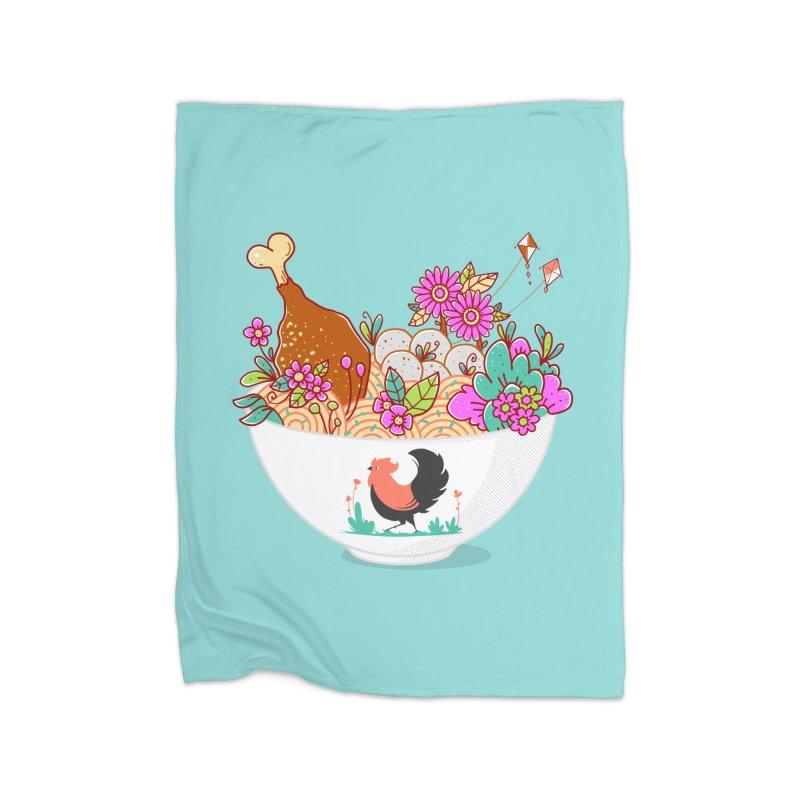 Bakmi Komplit Fantasy Home Blanket by godzillarge's Artist Shop