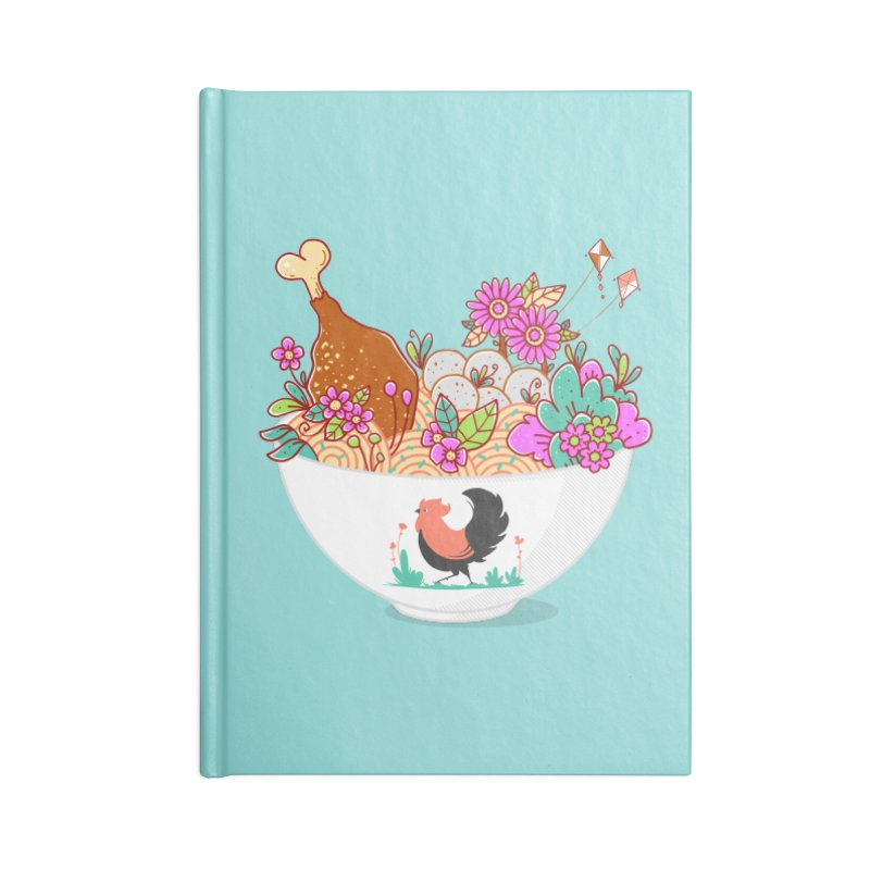 Bakmi Komplit Fantasy Accessories Notebook by godzillarge's Artist Shop
