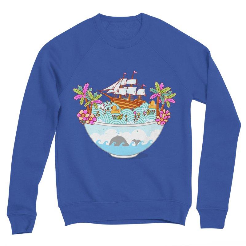 Ocean Adventure Ramen Women's Sponge Fleece Sweatshirt by godzillarge's Artist Shop
