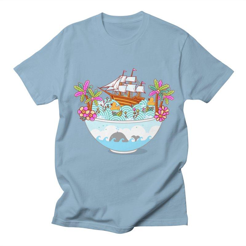 Ocean Adventure Ramen Women's Regular Unisex T-Shirt by godzillarge's Artist Shop