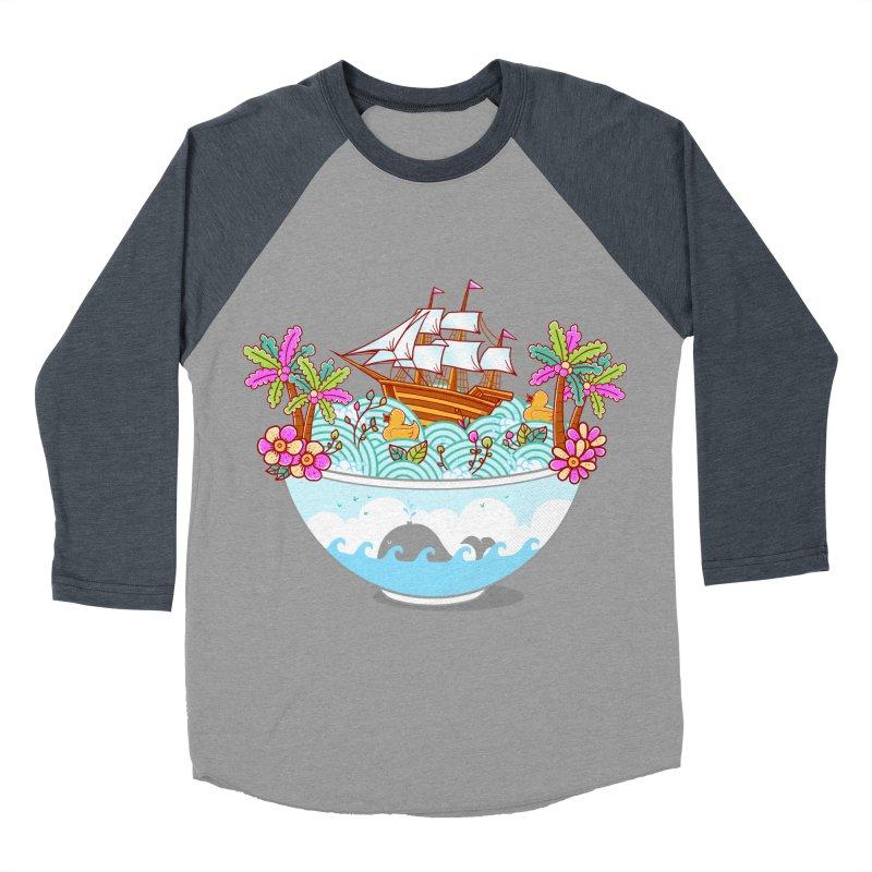 Ocean Adventure Ramen Women's Baseball Triblend Longsleeve T-Shirt by godzillarge's Artist Shop