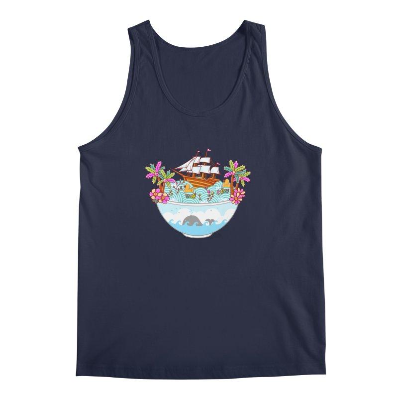 Ocean Adventure Ramen Men's Regular Tank by godzillarge's Artist Shop