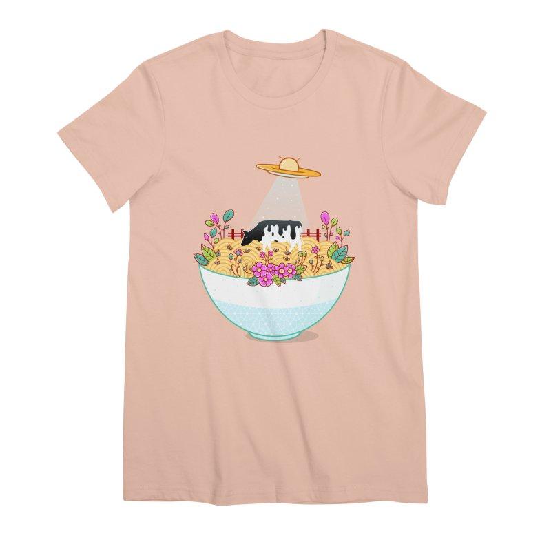 Kidnapped During Ramen Trip Women's Premium T-Shirt by godzillarge's Artist Shop