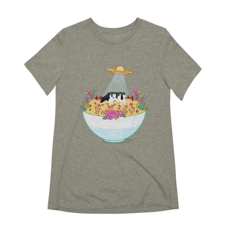 Kidnapped During Ramen Trip Women's Extra Soft T-Shirt by godzillarge's Artist Shop