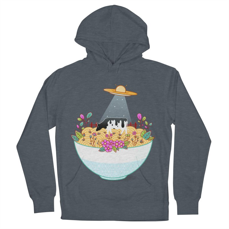 Kidnapped During Ramen Trip Men's French Terry Pullover Hoody by godzillarge's Artist Shop