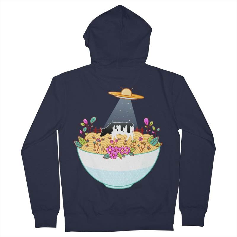 Kidnapped During Ramen Trip Women's French Terry Zip-Up Hoody by godzillarge's Artist Shop