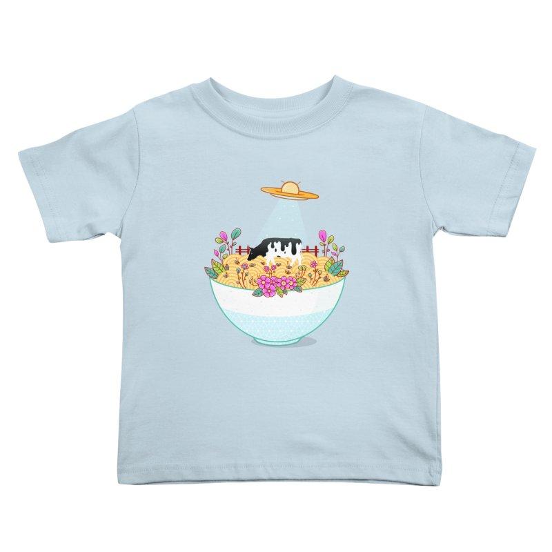 Kidnapped During Ramen Trip Kids Toddler T-Shirt by godzillarge's Artist Shop
