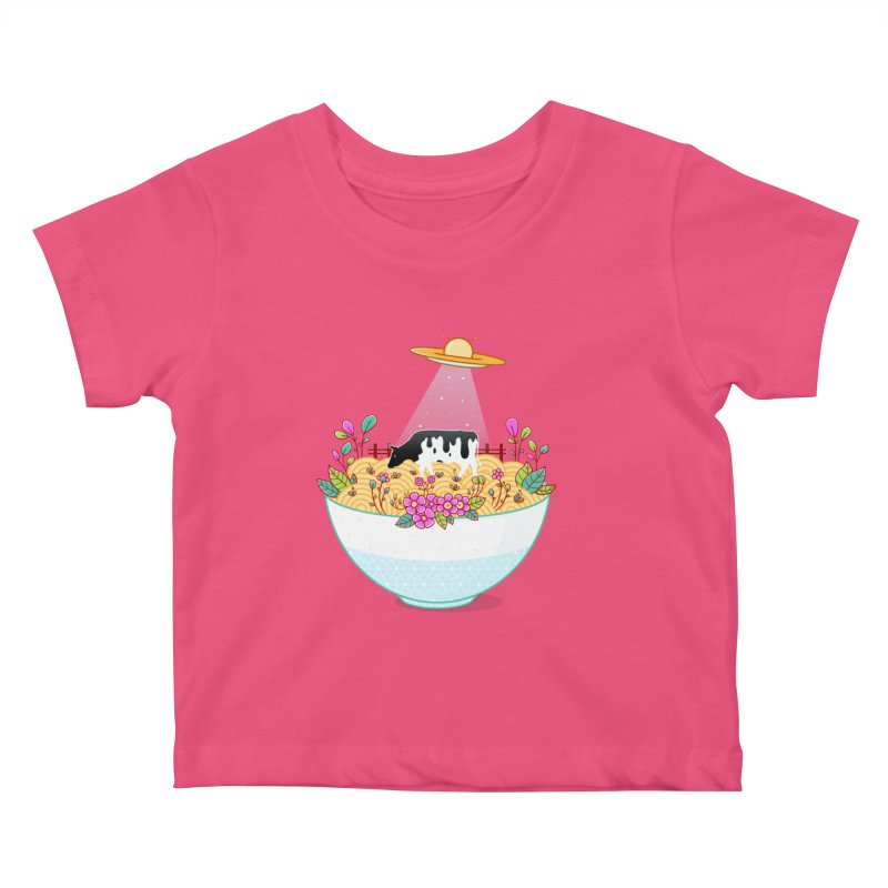 Kidnapped During Ramen Trip Kids Baby T-Shirt by godzillarge's Artist Shop