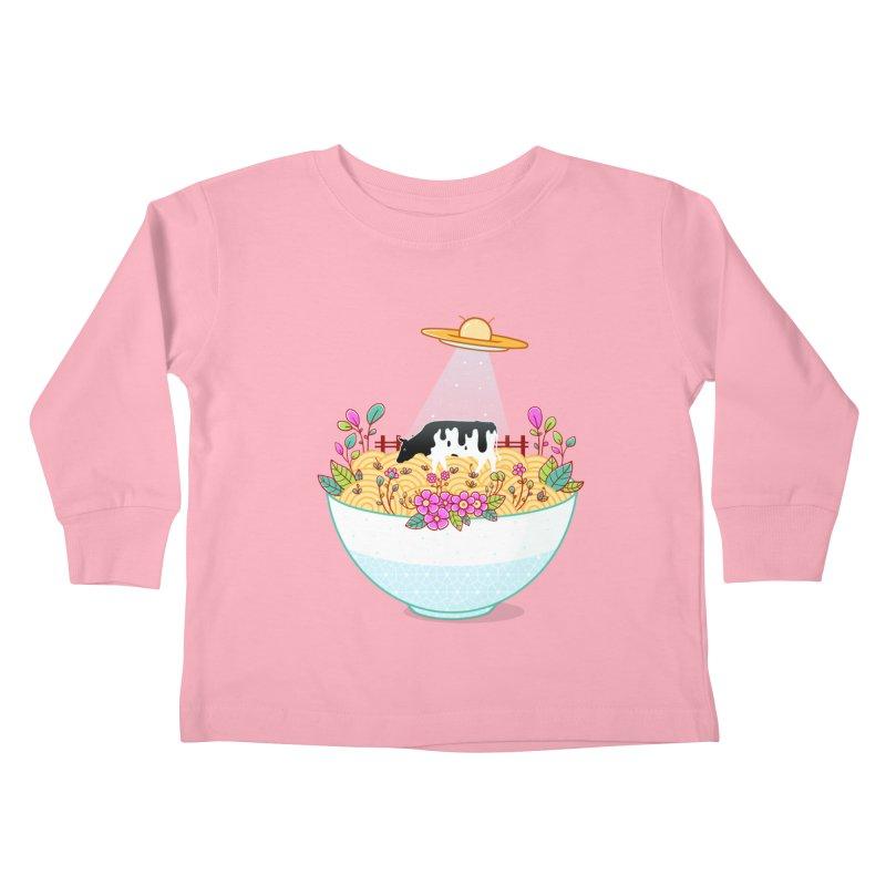 Kidnapped During Ramen Trip Kids Toddler Longsleeve T-Shirt by godzillarge's Artist Shop