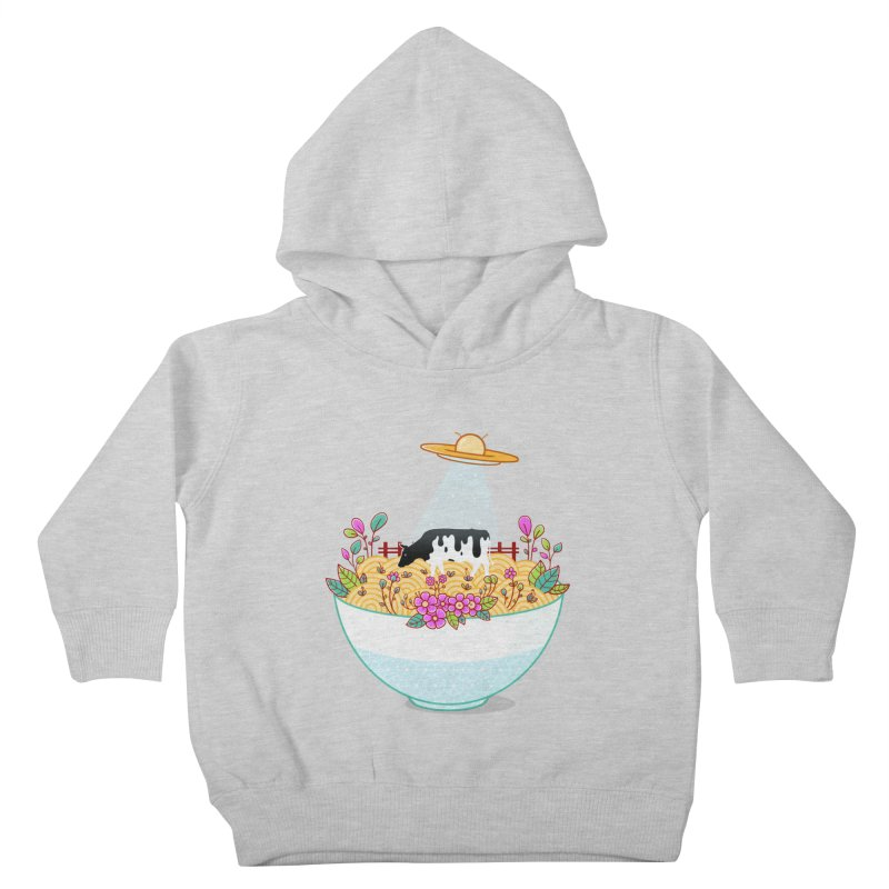 Kidnapped During Ramen Trip Kids Toddler Pullover Hoody by godzillarge's Artist Shop