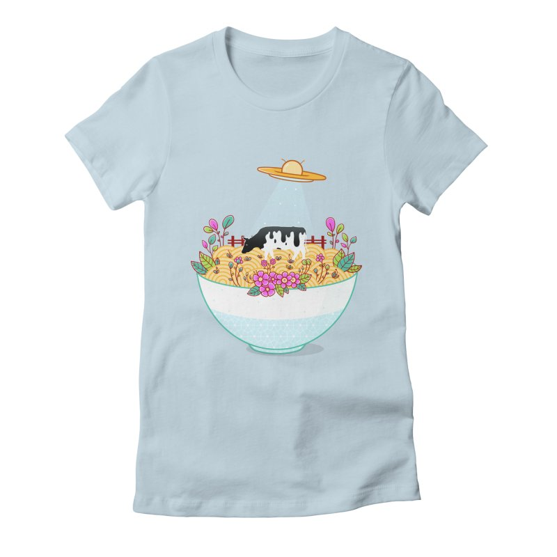 Kidnapped During Ramen Trip Women's Fitted T-Shirt by godzillarge's Artist Shop