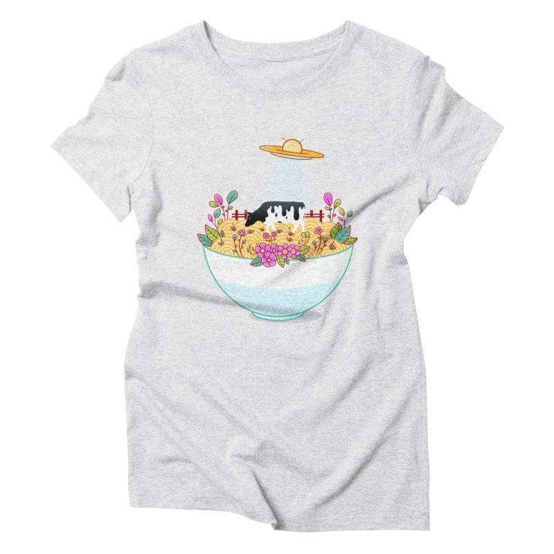 Kidnapped During Ramen Trip Women's Triblend T-Shirt by godzillarge's Artist Shop
