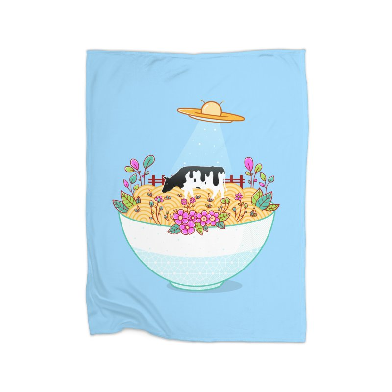 Kidnapped During Ramen Trip Home Blanket by godzillarge's Artist Shop